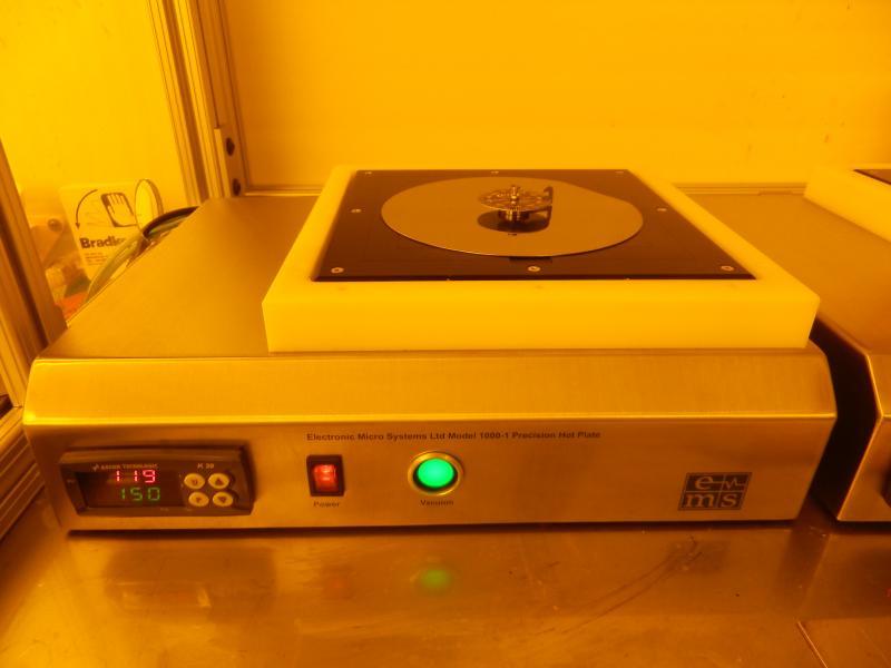 EMS 1000-1 hotplate